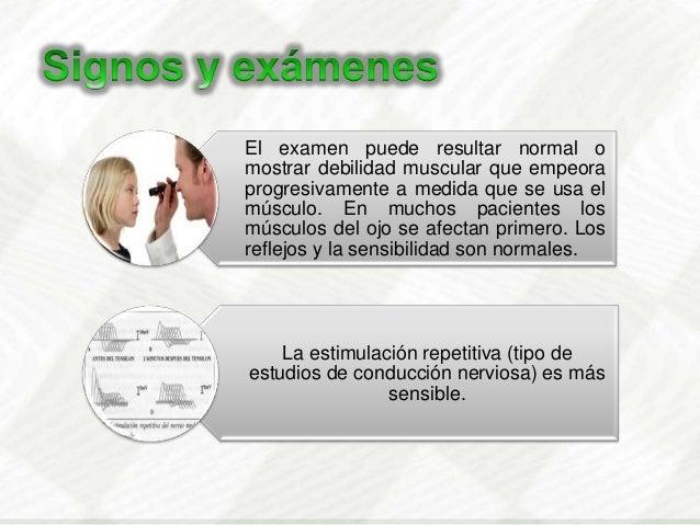 Endovenosadosis inicial  1mg, 2,3 y 5 mg, enintervalos de 3 a 5 minutosSensibilidad de 80 a 95% enpacientes con MGOAyuda ...