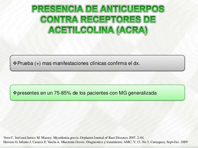 Los métodos terapéuticos más importantesque se emplean en la MG son fármacosAnticolinesterásicosInmunosupresoresTimectomía...