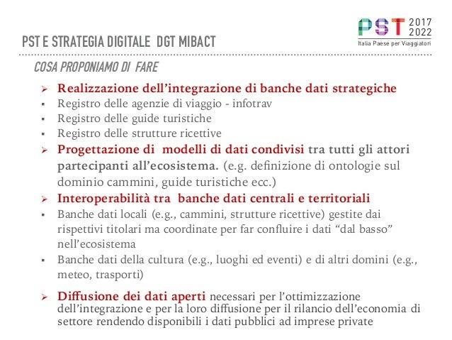 Ø Realizzazione dell'integrazione di banche dati strategiche § Registro delle agenzie di viaggio - infotrav § Registro ...