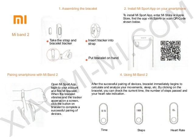 xiaomi mi band 2 user manua rh slideshare net apachie sports tracker user manual Icon Tracker Manual