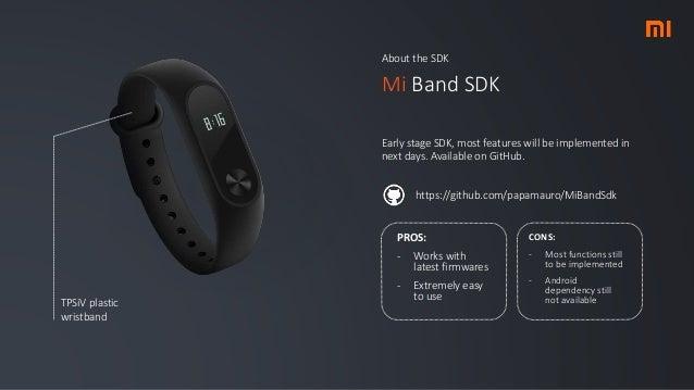 Xiaomi Mi Band overiew