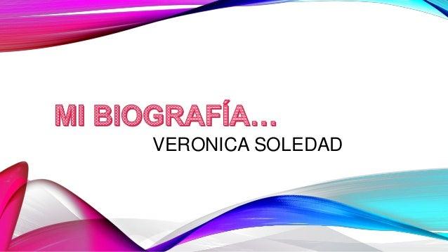 VERONICA SOLEDAD