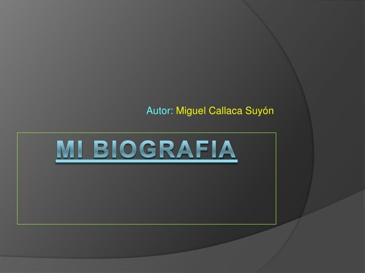 Autor: Miguel Callaca Suyón
