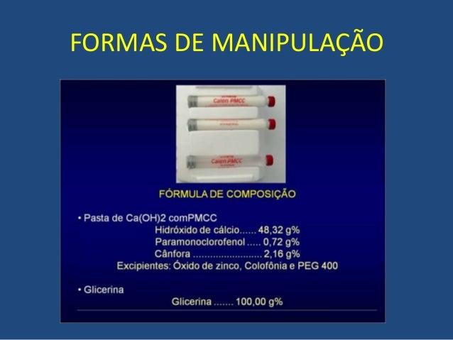 Medicação Intracanal Na Endodontia Paramonoclorofenol Canforado H