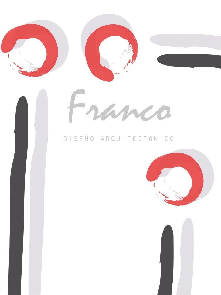 Franco DISEÑO ARQUITECTONICO