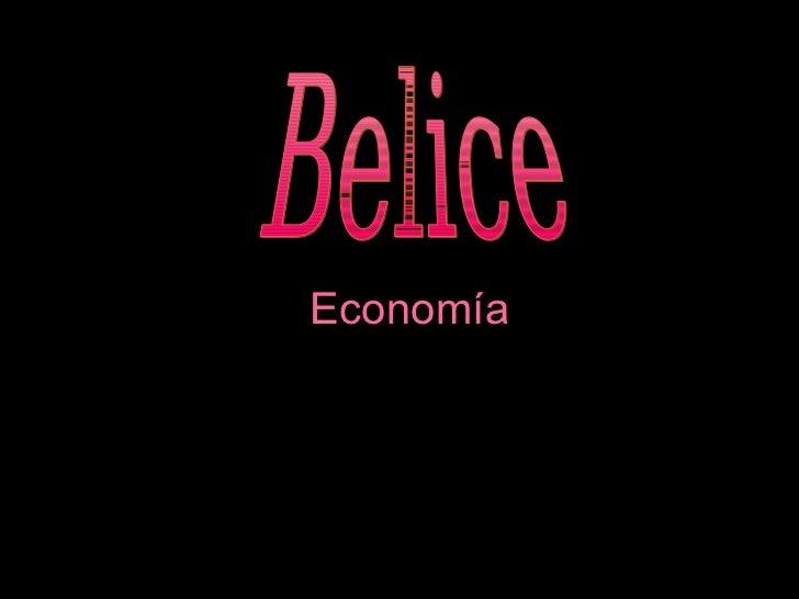 Economía Belice