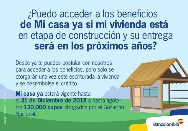Credito mi vivienda peruanos en el extranjero prestamos for Mi vivienda