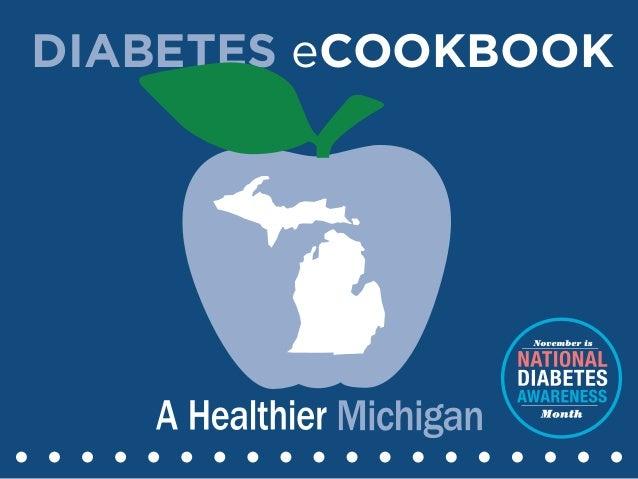 Diabetes eCookbook
