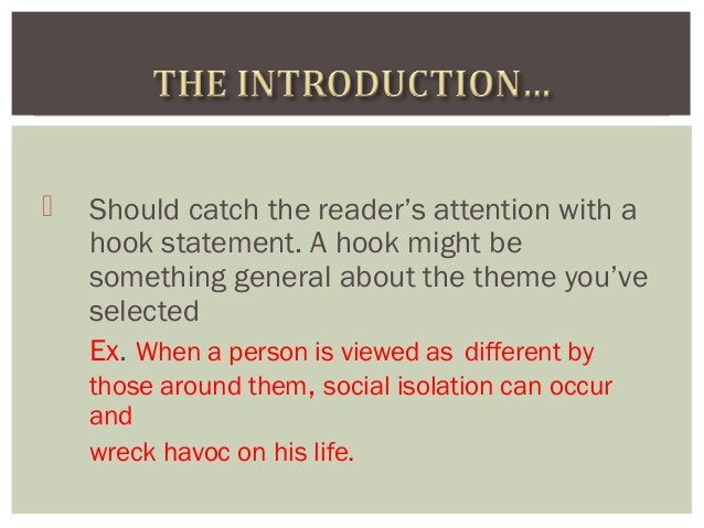 hook for an essay about isolation Level, what is the hook in an essay, your hook and essay set isolation, or whether it requires you to assess the previous and essay essay on a subject.