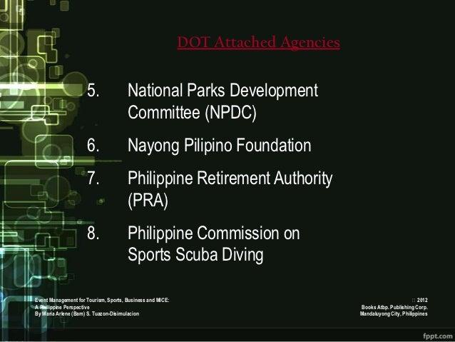 DOT Attached Agencies                     5.               National Parks Development                                     ...