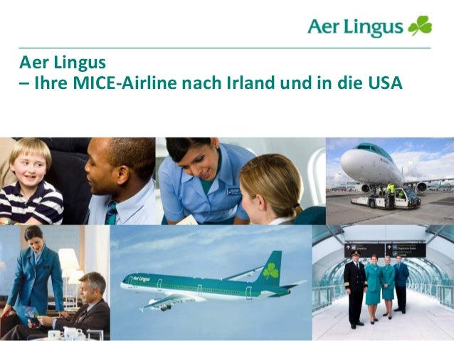 Aer Lingus – Ihre MICE-Airline nach Irland und in die USA