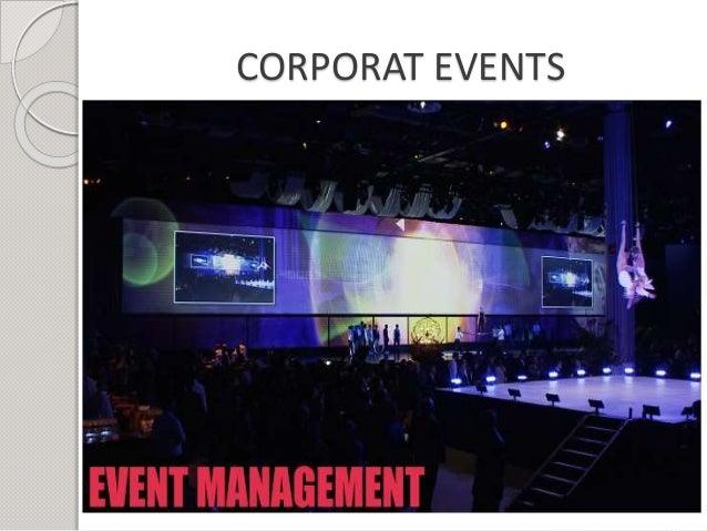 CORPORAT EVENTS
