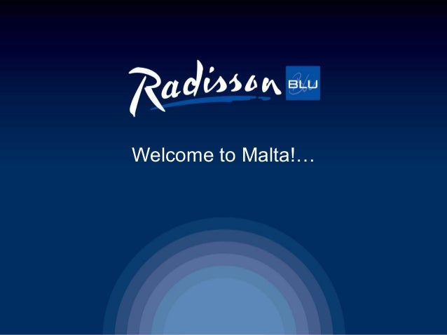 Welcome to Malta!…