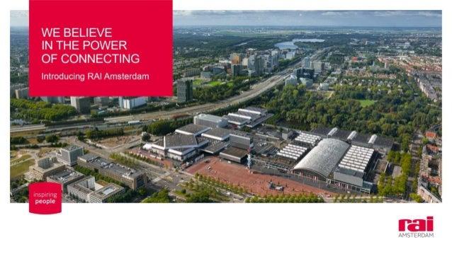 RAI Amsterdam - MICE PEAK Presentation 2018
