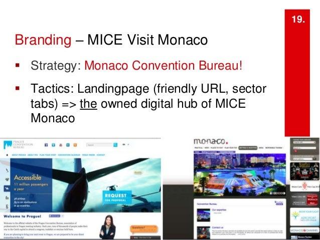 a digital marketing strategy monaco convention bureau mice sector. Black Bedroom Furniture Sets. Home Design Ideas