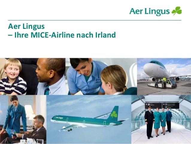 Aer Lingus – Ihre MICE-Airline nach Irland