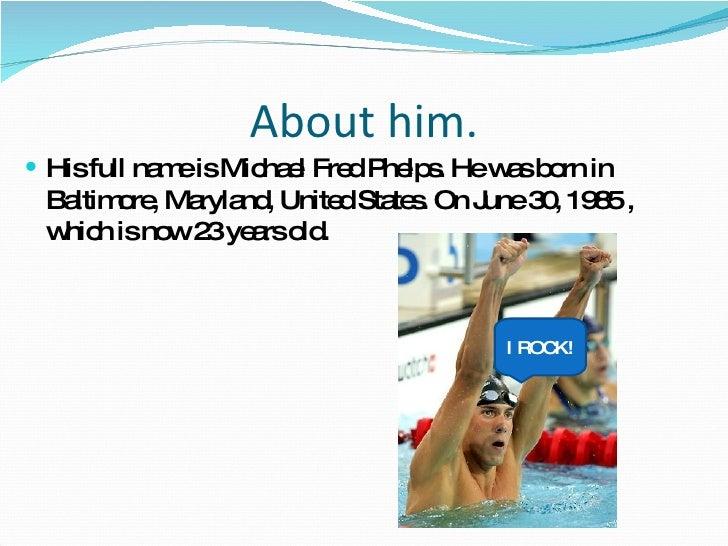 Michael Phelps SIS Slide 2