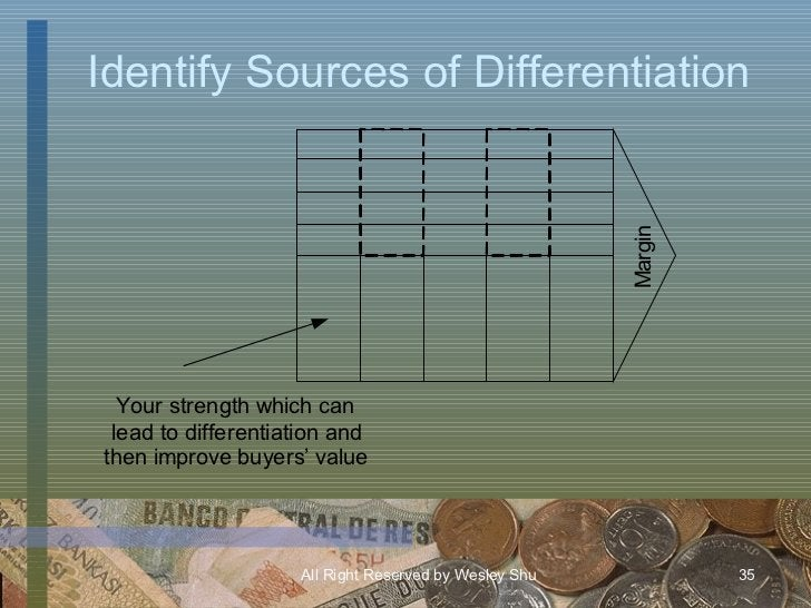 Identify Sources of Differentiation