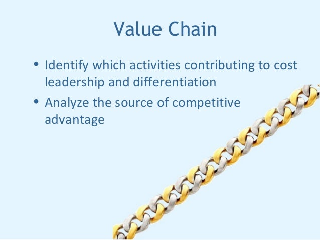 dell competitive advantage and value chain Dell's value chain • dell's value chain is a chain that brings value from supplier to the customer and provides dell with a competitive advantage 8 dell's value chain • inbound logistics.
