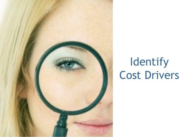 Identify Cost Drivers