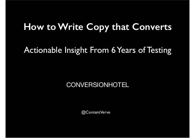 Conversion Hotel 2014: Michael Aagaard (DK) keynote