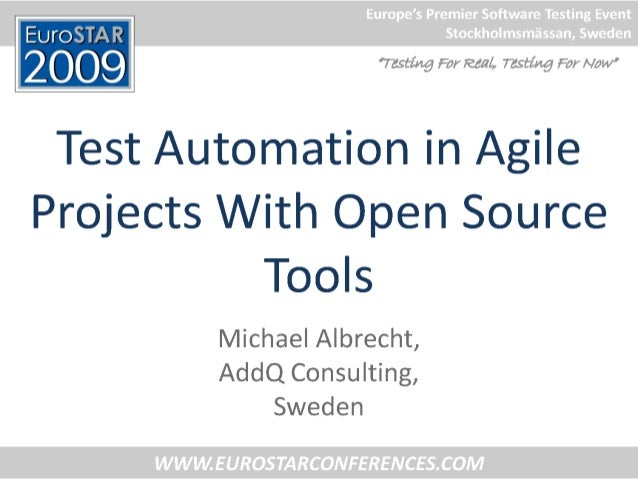 Michael Albrecht - Test Automation in Agile Projects with