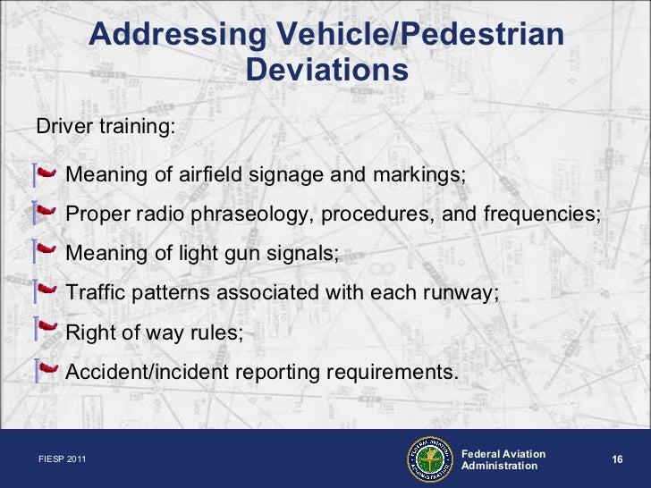 Airport Seminar - Federal Aviation Administration