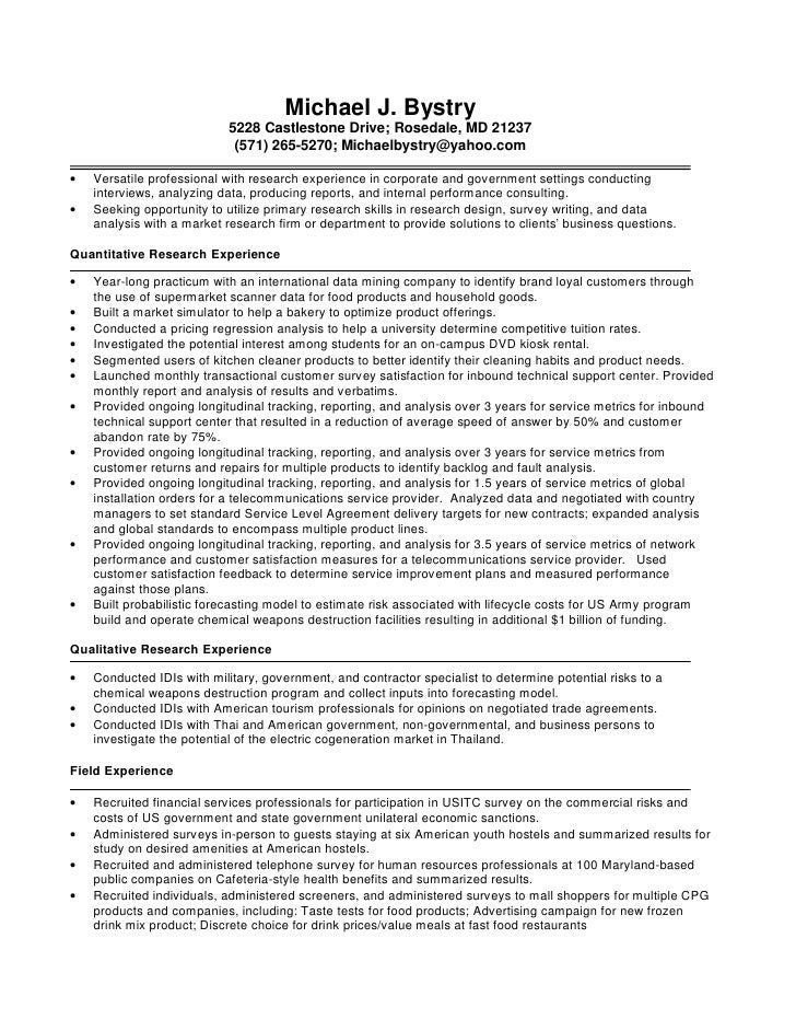 awesome marketing research resume examples photos simple resume