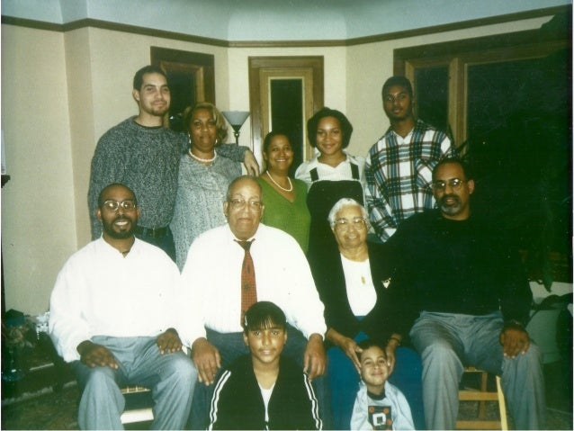 He was extremely proud of his Creole Heritage. With family on Cane River.