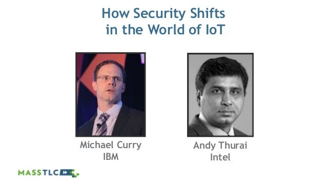 ©2012 MASSTLC ALL RIGHTS RESERVED. How Security Shifts in the World of IoT Michael Curry IBM Andy Thurai Intel
