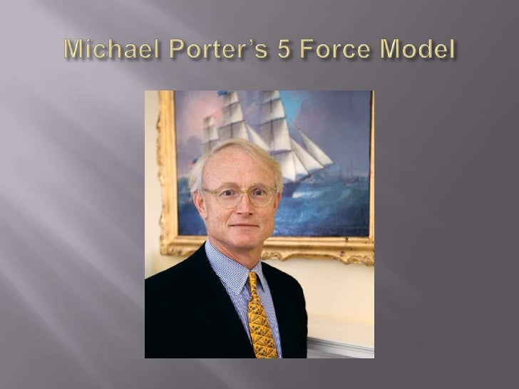 Michael Porter's 5 Force Model<br />