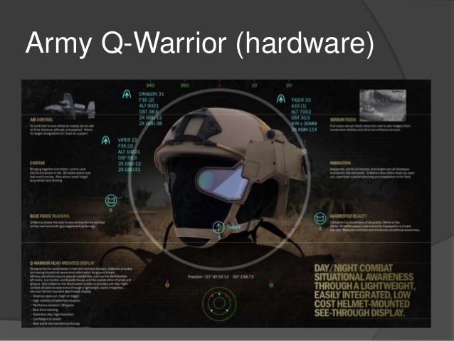 augmented reality use in the military