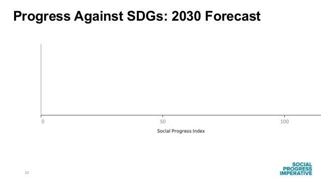 10 Progress Against SDGs: 2030 Forecast
