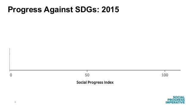 8 Progress Against SDGs: 2015