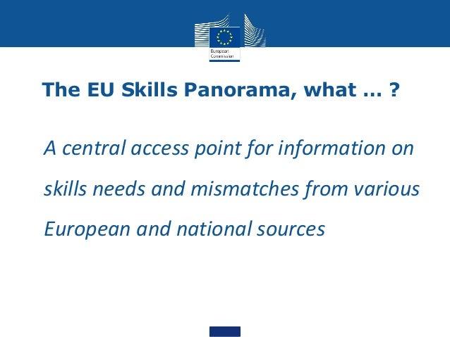 EU Skills Panorama Slide 3