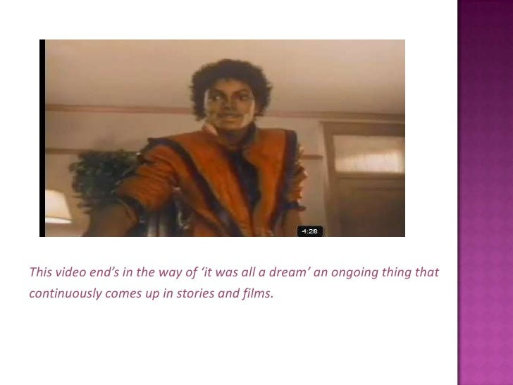 """analysis of semiotics of thriller michael jackson Subsystem do exist, it is not known which analysis of the musical sounds takes   the fan group of a pop subculture, such as michael jackson's teenager   substantially improved and the very """"horror quantitatis"""" can no longer be  accepted."""