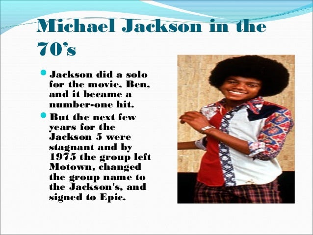 a biography of michael jackson Learn about michael jackson: his birthday, what he did before fame, his family  life, fun trivia facts, popularity rankings, and more.