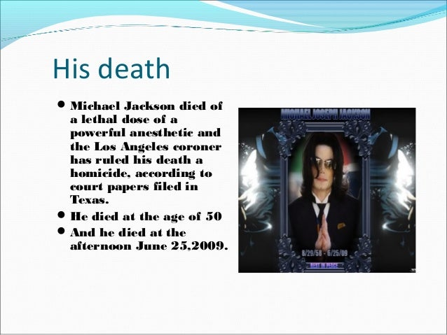 Michael jackson this is it essay