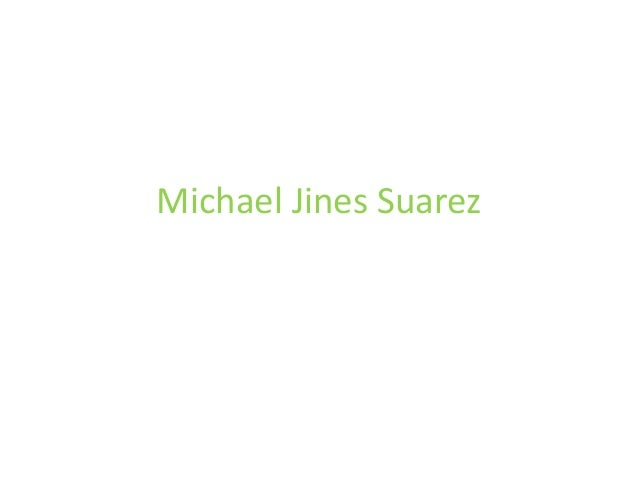 Michael Jines Suarez