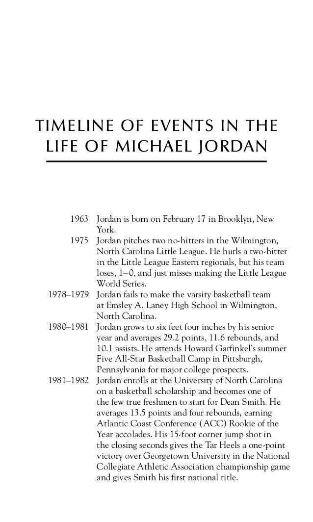 michael jordan life biography