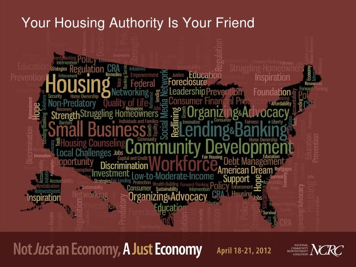 Your Housing Authority Is Your Friend