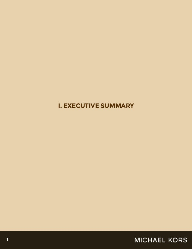 the goals strategies and targets of the michael kors company - michael kors is currently the company's chief designer  thought to target  business strategy different from michael kors due to having been.