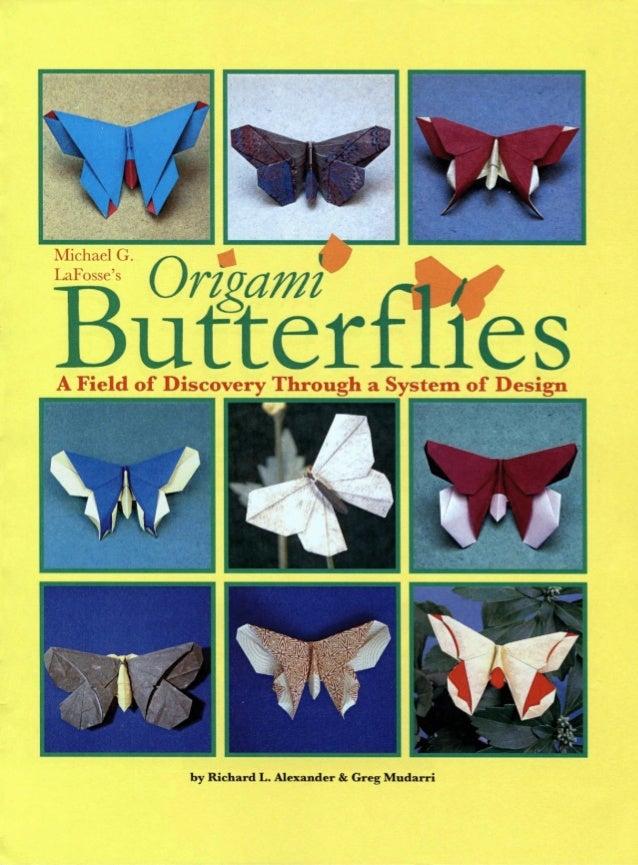Michael la fosse   origami butterflies