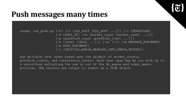 Cassandra Day NY 2014: Apache Cassandra & Python for the The New York Times ⨍aбrik Platform