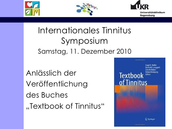 Tinnitus und psychische Belastung