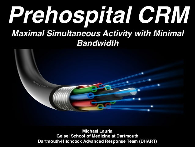 Prehospital crm maximal simultaneous activity with for Minimal art slideshare
