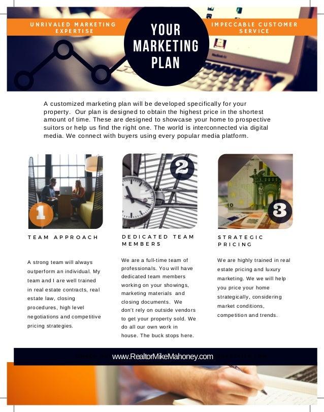 Michael Mahoney EXp Realty Marketing Plan