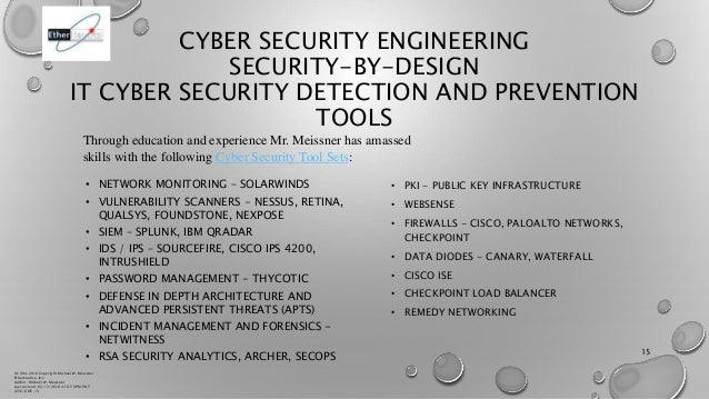 Michael W Meissner Cyber Security Engineering Biography