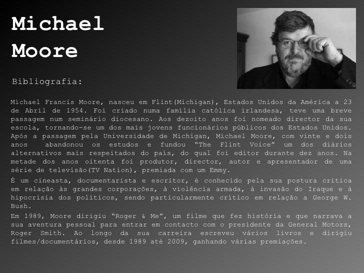Pesquisa de Autor: Michael Moore