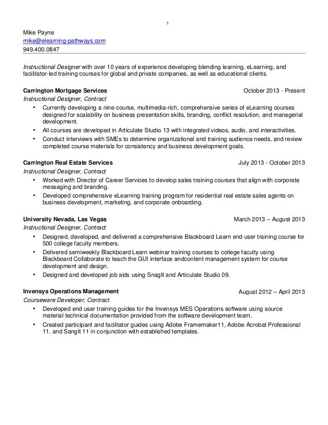 Instructional Designer Contract Jobs User Guide Manual That Easy